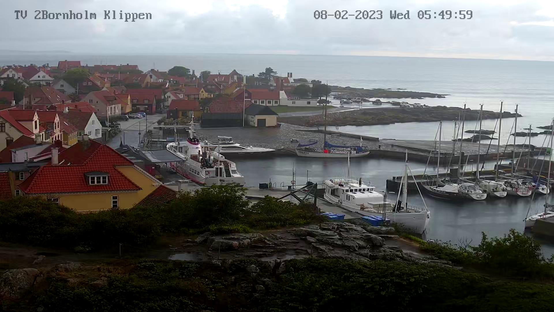 Live Webcam mit Blick auf Gudjhem